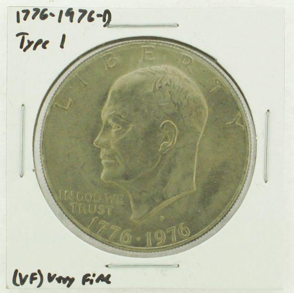 1976-D Type I Eisenhower Dollar RATING: (VF) Very Fine (N2-3934-06)