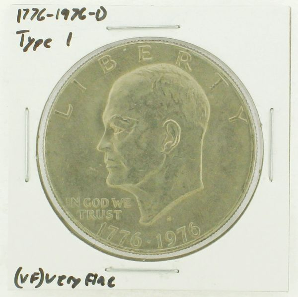 1976-D Type I Eisenhower Dollar RATING: (VF) Very Fine (N2-3934-09)