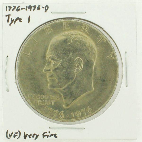 1976-D Type I Eisenhower Dollar RATING: (VF) Very Fine (N2-3934-11)