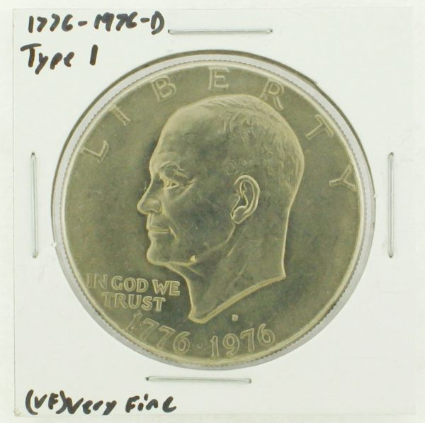 1976-D Type I Eisenhower Dollar RATING: (VF) Very Fine (N2-3934-12)