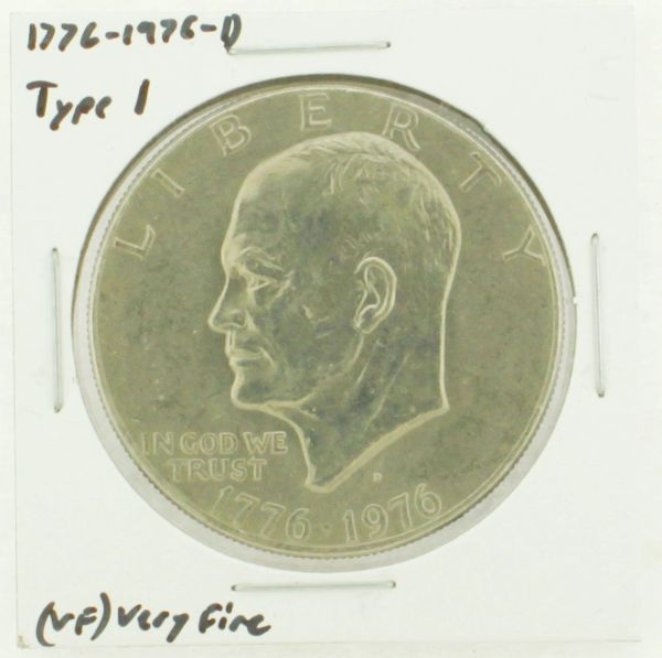 1976-D Type I Eisenhower Dollar RATING: (VF) Very Fine (N2-3934-13)