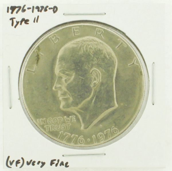 1976-D Type II Eisenhower Dollar RATING: (VF) Very Fine (N2-3950-02)