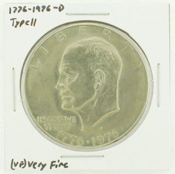 1976-D Type II Eisenhower Dollar RATING: (VF) Very Fine (N2-3950-05)