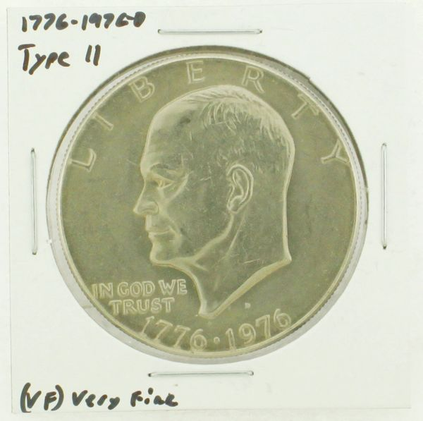 1976-D Type II Eisenhower Dollar RATING: (VF) Very Fine (N2-3950-07)
