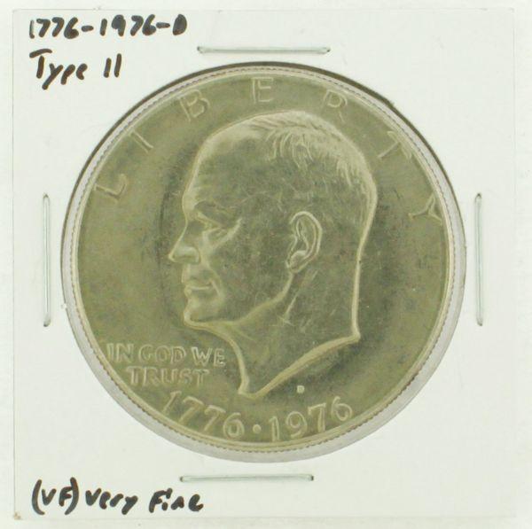 1976-D Type II Eisenhower Dollar RATING: (VF) Very Fine (N2-3950-08)