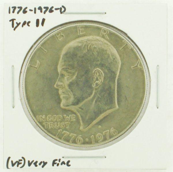 1976-D Type II Eisenhower Dollar RATING: (VF) Very Fine (N2-3950-10)