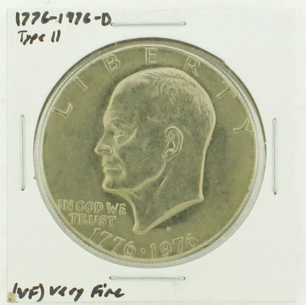 1976-D Type II Eisenhower Dollar RATING: (VF) Very Fine (N2-3950-11)