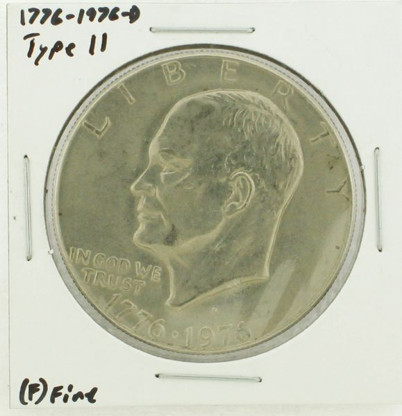 1976-D Type II Eisenhower Dollar RATING: (F) Fine (N2-4091)