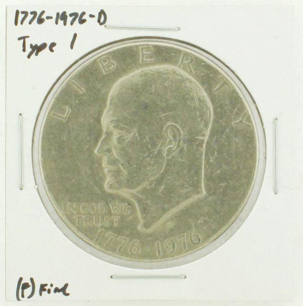 1976-D Type I Eisenhower Dollar RATING: (F) Fine (N2-4044-01)
