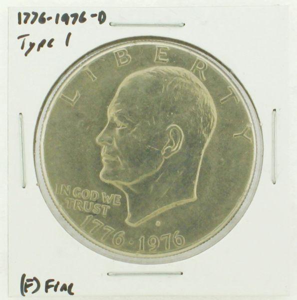 1976-D Type I Eisenhower Dollar RATING: (F) Fine (N2-4044-03)
