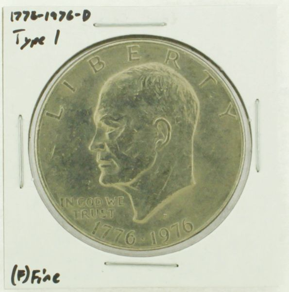 1976-D Type I Eisenhower Dollar RATING: (F) Fine (N2-4044-06)