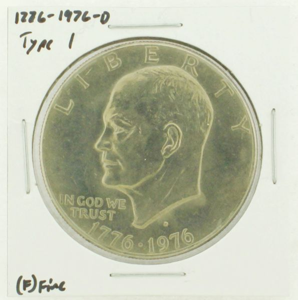1976-D Type I Eisenhower Dollar RATING: (F) Fine (N2-4044-07)