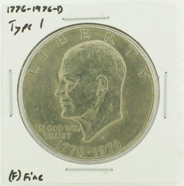 1976-D Type I Eisenhower Dollar RATING: (F) Fine (N2-4044-08)