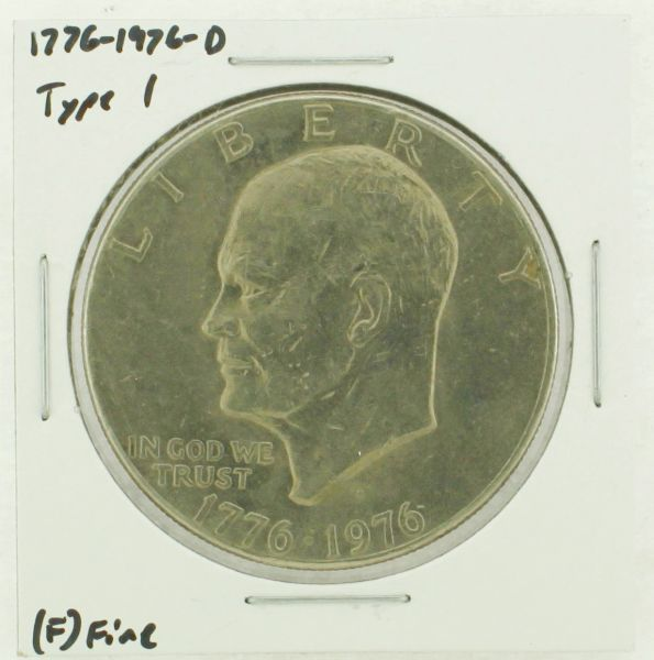 1976-D Type I Eisenhower Dollar RATING: (F) Fine (N2-4044-09)