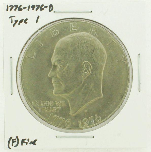 1976-D Type I Eisenhower Dollar RATING: (F) Fine (N2-4044-10)
