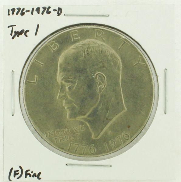 1976-D Type I Eisenhower Dollar RATING: (F) Fine (N2-4044-13)
