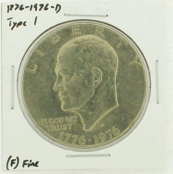 1976-D Type I Eisenhower Dollar RATING: (F) Fine (N2-4044-20)