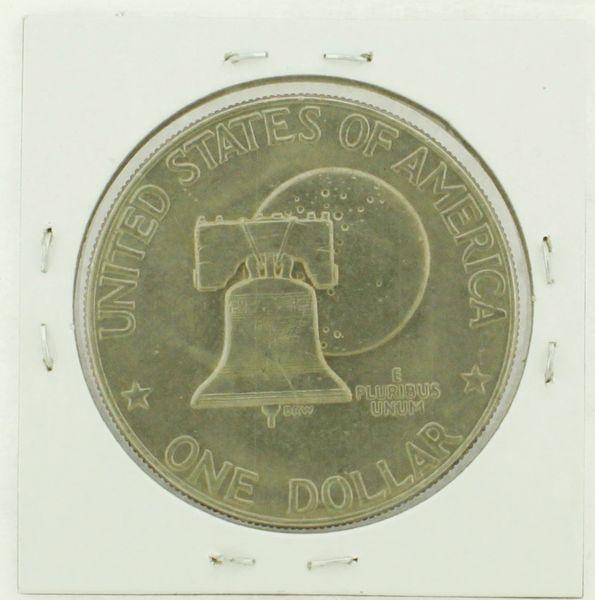 1976-D Type I Eisenhower Dollar RATING: (F) Fine (N2-4044-21)