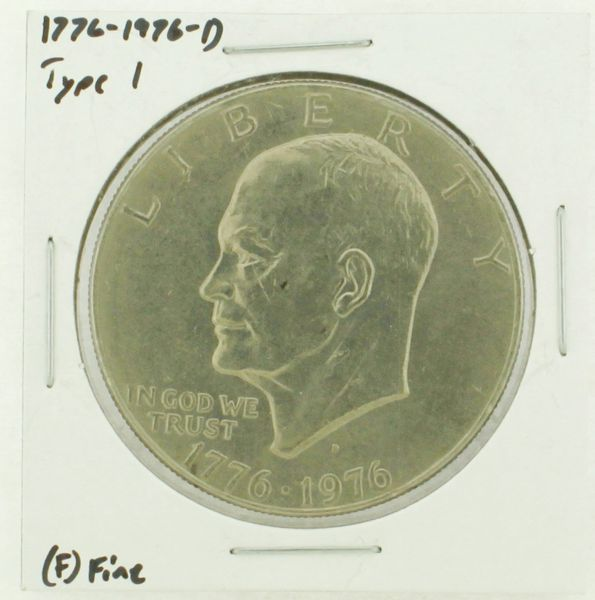 1976-D Type I Eisenhower Dollar RATING: (F) Fine (N2-4044-22)
