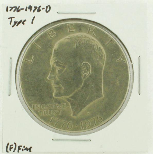 1976-D Type I Eisenhower Dollar RATING: (F) Fine (N2-4044-26)