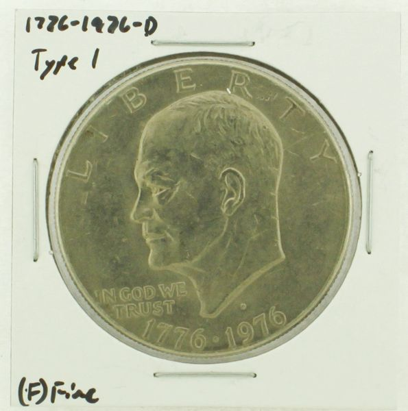 1976-D Type I Eisenhower Dollar RATING: (F) Fine (N2-4044-27)