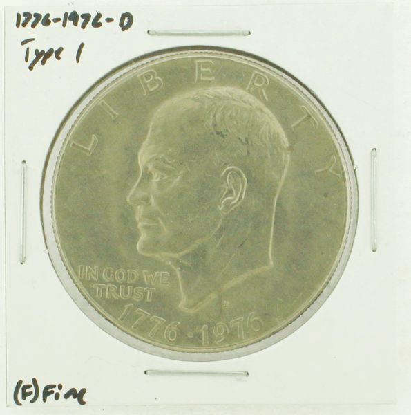 1976-D Type I Eisenhower Dollar RATING: (F) Fine (N2-4044-29)