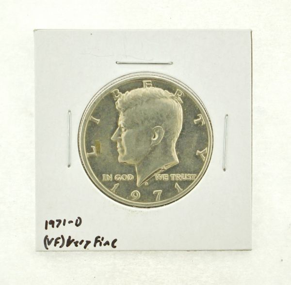 1971-D Kennedy Half Dollar (VF) Very Fine N2-3450-12
