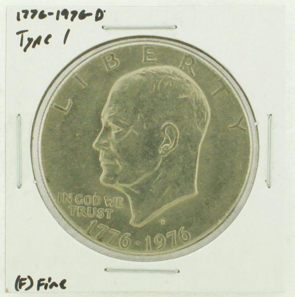 1976-D Type I Eisenhower Dollar RATING: (F) Fine (N2-4044-30)