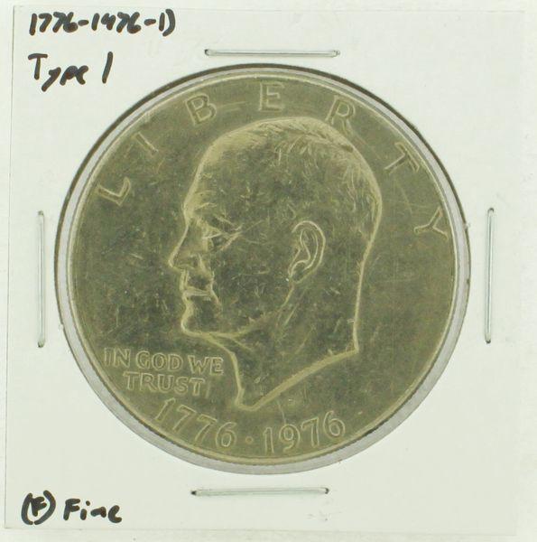 1976-D Type I Eisenhower Dollar RATING: (F) Fine (N2-4044-31)