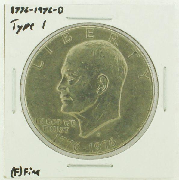 1976-D Type I Eisenhower Dollar RATING: (F) Fine (N2-4044-34)