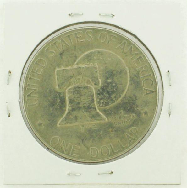 1976-D Type I Eisenhower Dollar RATING: (F) Fine (N2-4044-35)