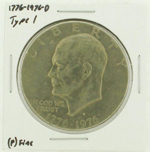 1976-D Type I Eisenhower Dollar RATING: (F) Fine (N2-4044-39)