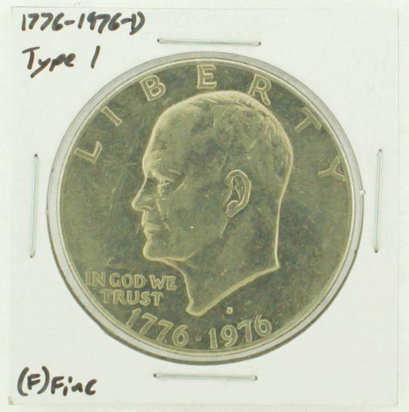 1976-D Type I Eisenhower Dollar RATING: (F) Fine (N2-4044-40)