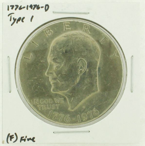 1976-D Type I Eisenhower Dollar RATING: (F) Fine (N2-4044-42)