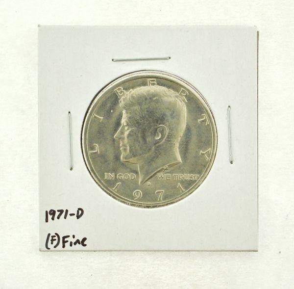 1971-D Kennedy Half Dollar (F) Fine N2-3467-1