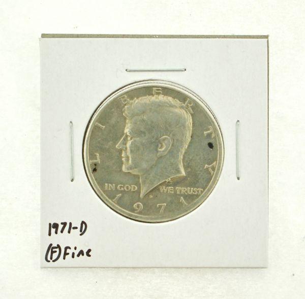 1971-D Kennedy Half Dollar (F) Fine N2-3467-2