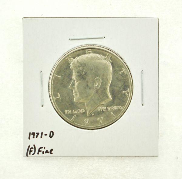 1971-D Kennedy Half Dollar (F) Fine N2-3467-4