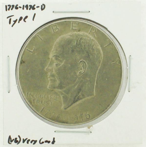 1976-D Type I Eisenhower Dollar RATING: (VG) Very Good (N2-4092-02)