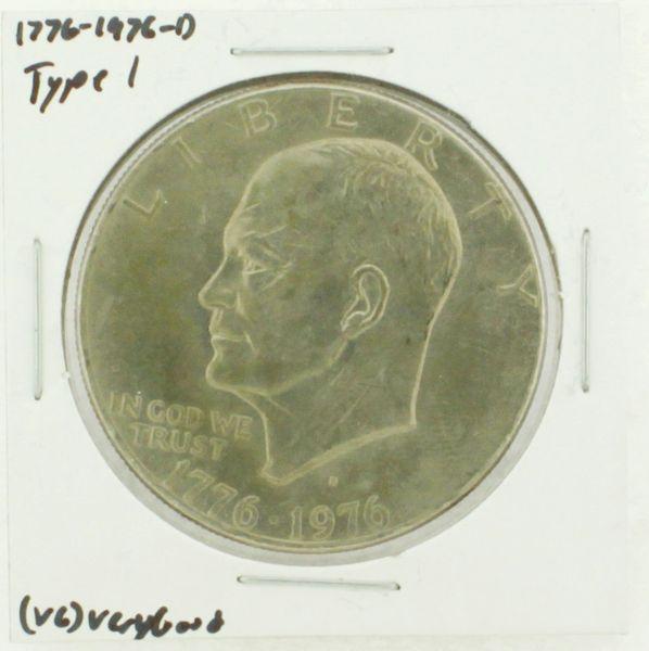 1976-D Type I Eisenhower Dollar RATING: (VG) Very Good (N2-4092-03)
