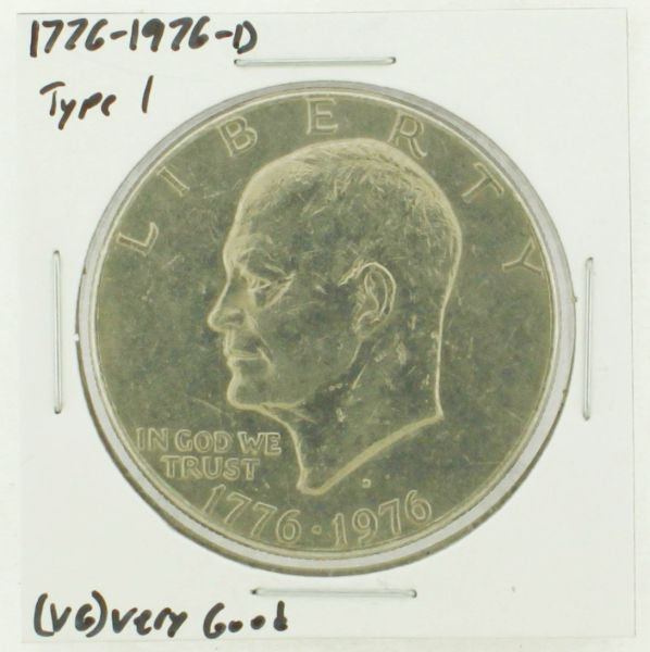 1976-D Type I Eisenhower Dollar RATING: (VG) Very Good (N2-4092-04)