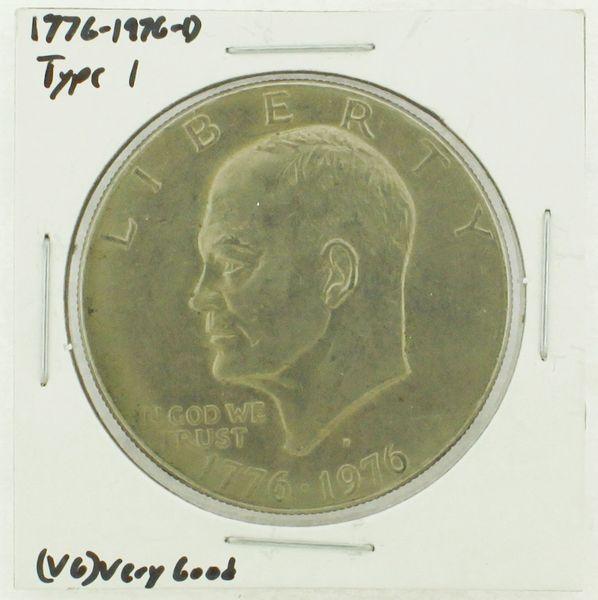 1976-D Type I Eisenhower Dollar RATING: (VG) Very Good (N2-4092-05)
