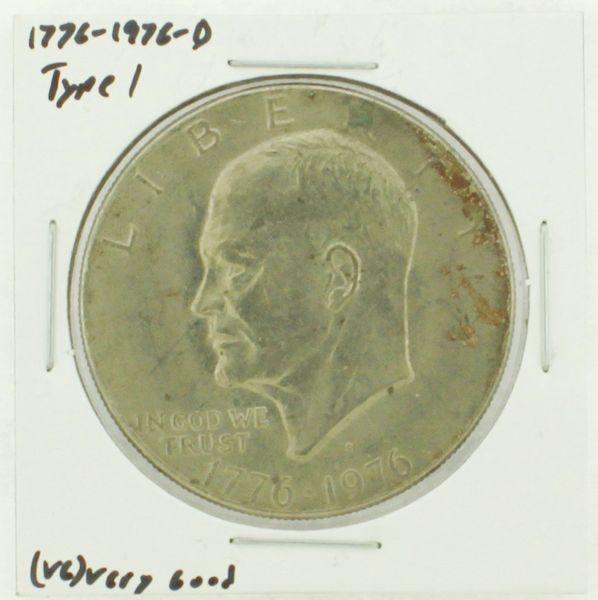 1976-D Type I Eisenhower Dollar RATING: (VG) Very Good (N2-4092-08)