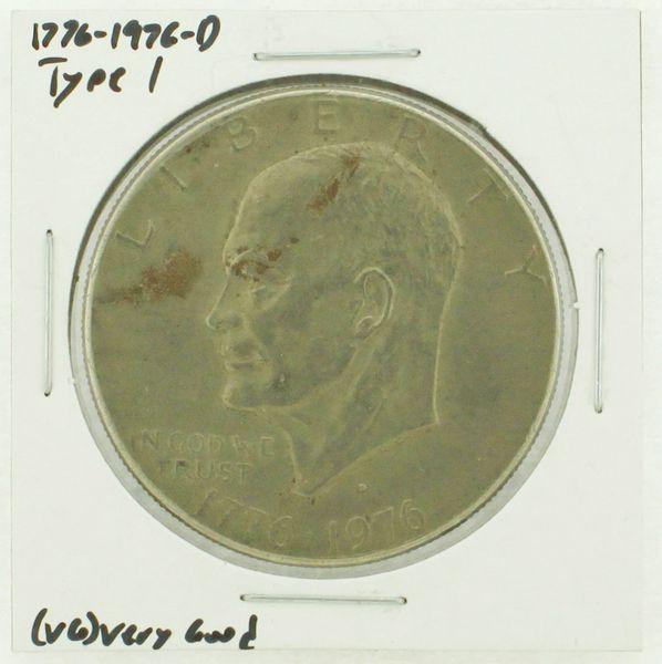 1976-D Type I Eisenhower Dollar RATING: (VG) Very Good (N2-4092-09)