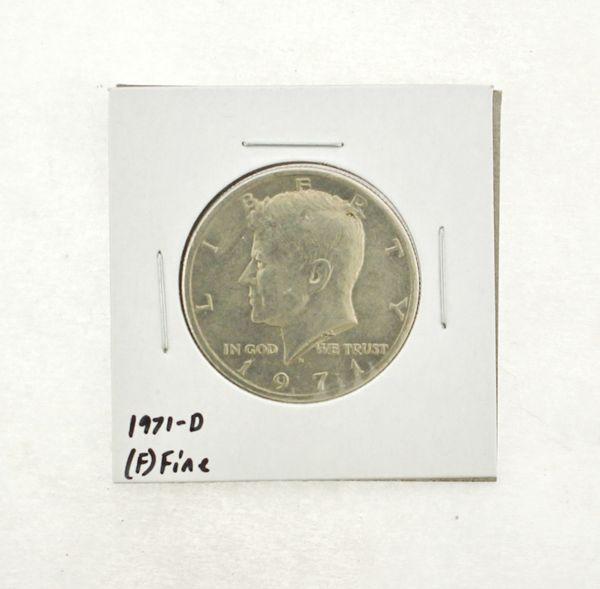 1971-D Kennedy Half Dollar (F) Fine N2-3467-24