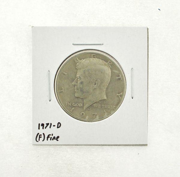 1971-D Kennedy Half Dollar (F) Fine N2-3467-23
