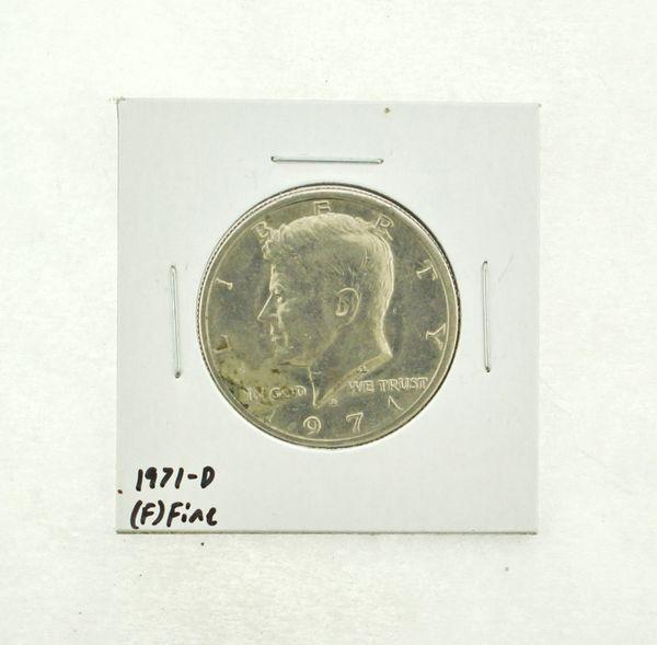 1971-D Kennedy Half Dollar (F) Fine N2-3467-5