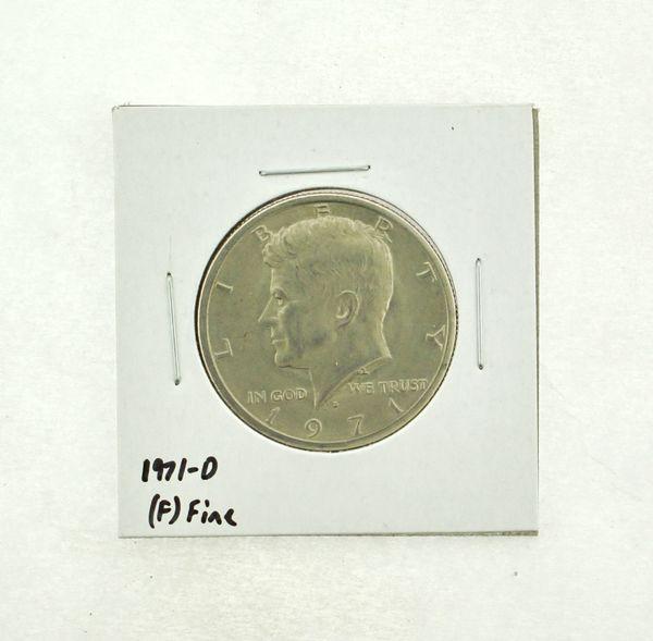 1971-D Kennedy Half Dollar (F) Fine N2-3467-8