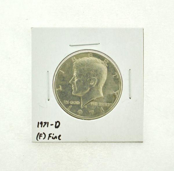 1971-D Kennedy Half Dollar (F) Fine N2-3467-9