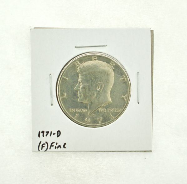 1971-D Kennedy Half Dollar (F) Fine N2-3467-10