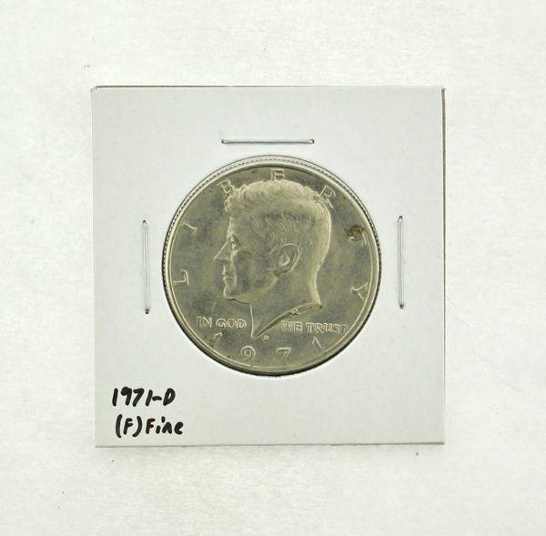 1971-D Kennedy Half Dollar (F) Fine N2-3467-12